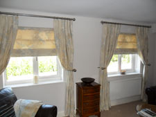 Curtains and blinds from Carnival Blinds Hertfordshire